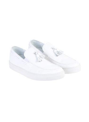 Kiğılı Casual Ayakkabı Beyaz